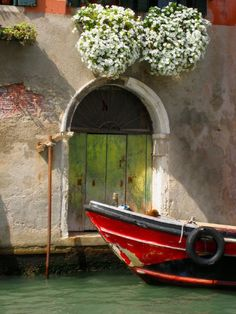 lovely italy. i'd love this to be my door...