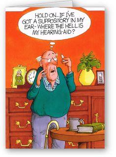 Wrinklies - Lost hearing aid
