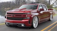 This particular car is my most desired whip. Custom Pickup Trucks, Chevy Pickup Trucks, Gm Trucks, Chevy Pickups, Chevrolet Trucks, Cool Trucks, Dropped Trucks, Lowered Trucks, Silverado Crew Cab
