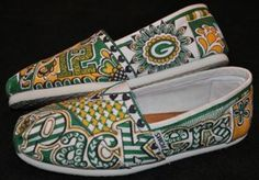 I should design my white Toms like these! Because mine are no longer white! Love this! I'm doing it!