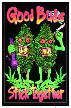 good-buds-stick-together-pot-marijuana-blacklight-poster-print.jpg 322×488 pixels