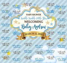 Baby Shower Step and Repeat Shower Step, Baby Shower, Red Carpet Backdrop, Sale Emails, Event Banner, Repeat, Backdrops, How To Memorize Things, Templates