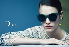 51d9d8b6fda0 Rising star Vanessa Moody appears in the fall-winter 2015 eyewear campaign  from Dior. In the image