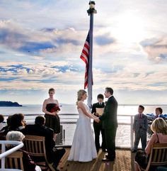 Cruise Weddings page - Lists reasons why this is a good wedding option. {Wedding Photography} {Destination Weddings} {Bride and Groom} {Wedding Reception Ideas}