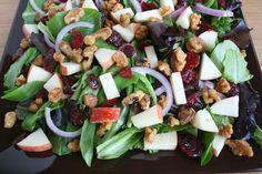 The Garden Grazer: Apple Cranberry Walnut Salad