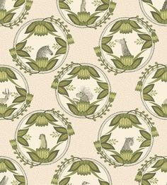 Ardmore Cameos Wallpaper from the Cole & Son Ardmore Collection, with a series of animal portrait plates, shown in stone and green. Created originally as a wedding gift to a 'friend of Ardmore'. Unusual Wallpaper, Green Wallpaper, Wallpaper Roll, Dusty Blue, Cole Son, Cole And Son Wallpaper, Image Hd, African Traditions, Boutique Deco