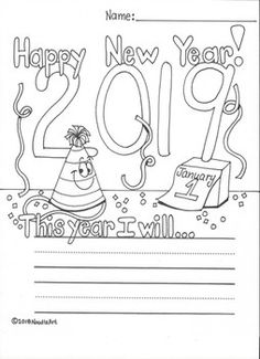 Essay On Healthy Eating Habits Students Will Enjoy Writing And Coloring About Their New Years Resolution  For  This Hand Www Oppapers Com Essays also Is A Research Paper An Essay New Years Resolution   Kindergartenklubcom  Classroom  Buy Custom Essay Papers