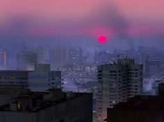 #aes #aesthetic #pink #city