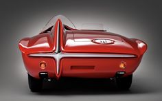 1960-PLYMOUTH-XNR-concept-rear-view