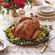 Dry Brined-Herb Roasted Turkey Recipe | MyRecipes.com Sooooo good! Made this for Thanksgiving and Christmas this year! (2014)