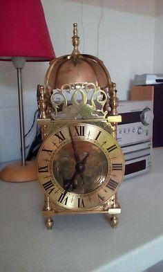 French Lantern Clock. Circa 1903-1925. With bronze bell.