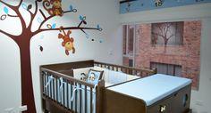 20 estilos e ideas para decorar la habitación del bebé recién nacido http://blgs.co/1Gd46g