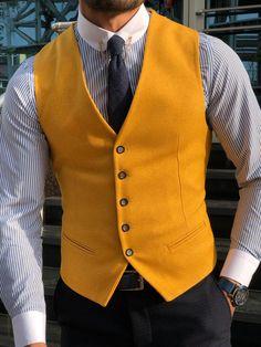 GEN Peach Brandon Michael  Formal Vest Paisley print Excellent used condition