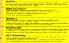 50 tipů na hry pro skupinu předškolních dětí.