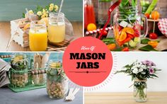 Did you know you could use your Mason Jars In these 11 ways?   http://ift.tt/2aUELKm #Vegetarian #Recipes