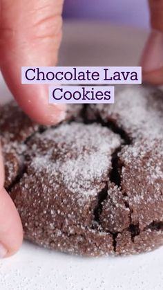 Delicious Deserts, Yummy Food, Tasty, Fun Baking Recipes, Sweet Recipes, Lava Cookies, Fun Desserts, Dessert Recipes, Food Cravings