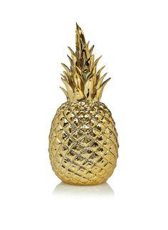 Golden pineapple from pols potten.