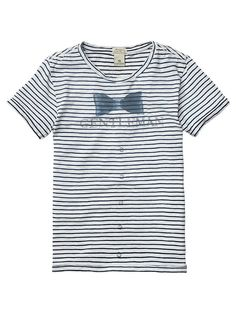 Gentlemen tee with roll-up sleeves - T-shirts - Official Scotch & Soda Online Fashion & Apparel Shops