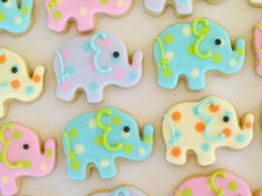 The BEST cookies for favors or parties! Delish and adorable, trying to find another reason to order more.