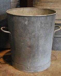 English Vintage Galvanized Container | Online Garden Store
