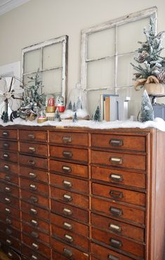 Holiday House Walk - Historic Holiday Home 2014 -Love the drawers!