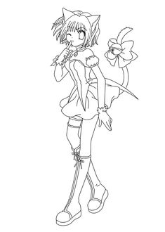 Shugo Chara Anime Coloring Pages For Kids Printable Free - anime coloring pages