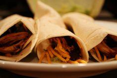 Spicy Chicken Crock Pot Tacos