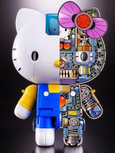 シンギュラリティライフ (Singularity Life): ハローキティがついにロボットに! Full Metal Hello Kitty