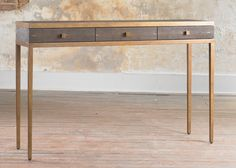 """Julian Chichester Large Frank Console W51"""" x D14"""" x H33"""" - also available with 2 drawers or without drawers (small is W35"""" x D14"""" x H33"""")"""