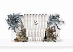 Wall Backdrops, Backdrop Decorations, Wedding Decorations, Wedding Colors, Wedding Flowers, Wedding Photo Walls, Wedding Drawing, Wedding Illustration, Exhibition Booth Design
