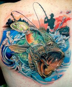 tattoos of fish - Google Search