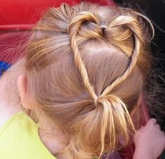 Valentines Day Hairsdos for kids
