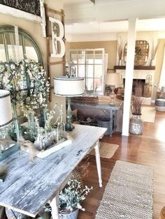 Rustic Living Room Decor Ideas_45