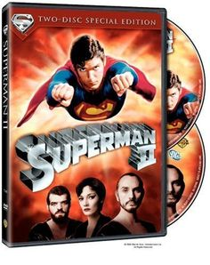 This is the famous sequel to Superman the Movie. Superman fights against three exiled Kryptonian foes who swore revenge against Jor-el and his heirs in the first part. Lois Lane also discovers that Clark Kent is Superman. We get to see Superman trying to survive without his superpowers. And Lex Luthor, played with excellence by Gene Hackman, provides the humor in this movie.