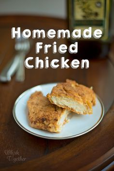 Homemade Fried Chicken - Recipe, tips and tricks to make it at home! Homemade Fried Chicken, Fried Chicken Recipes, Green Beans, Fries, Recipe Tips, Cooking Recipes, Stuffed Peppers, Dishes, Breakfast