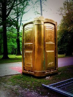 I only take the golden toilet by aboutbettertimes, via Flickr