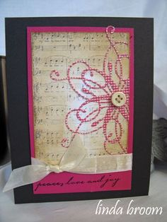 Memory Box...Peace, love and joy....love this card!