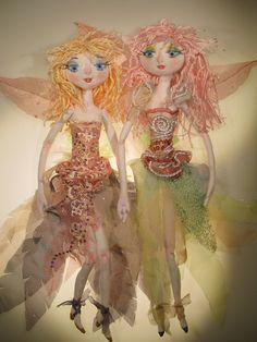 THE ORIGINAL KAERIE FAERIES by Art Dolls of Kaerie Faerie, via Flickr