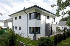 Fassadengestaltung stein  Bildergebnis für fassadengestaltung einfamilienhaus rotes dach ...