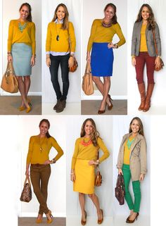 J's Everyday Fashion - the mustard sweater