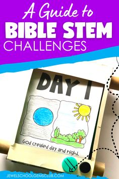 Do you want to know more about Bible STEM challenges? Check out this article that will guide you on what Bible STEM is and give you valuable ideas and resources for Bible STEM lessons, activities and projects for kids.