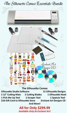 Silhouette Cameo Digital Cutter Machine  Check amazon for more inf and price!!! @Bonnie S. Snellgrove