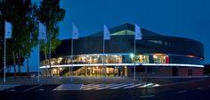 Basketball-Arena in Litauen / Kreis und Quadrat - Architektur und Architekten - News / Meldungen / Nachrichten - BauNetz.de