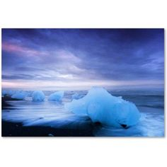 Trademark Fine Art 'Blue Collection' Canvas Art by Philippe Sainte-Laudy, Size: 16 x 24, Multicolor