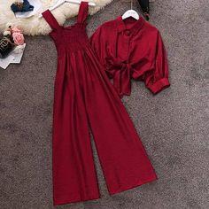 Smocking, Girl Fashion, Bows, Formal Dresses, Jumpsuits, Cart, Red, Jackets, Instagram