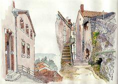 Luzech, l'escalier de la Pistoule | by Cat Gout