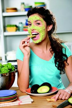 The Amazing Benefits Of Avocado's For Healthy Skin  #Beauty #DIY #Skincare #Healthy