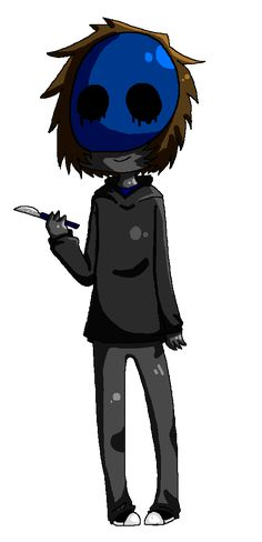 Eyeless jack pixel by miku-vs-andy
