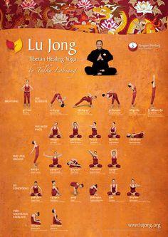 LU JONG PRACTICE POSTER (NEW), portrait format