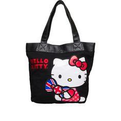 I love the Hello Kitty British Tote from LittleBlackBag